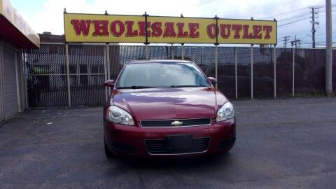 2010 Chevrolet Impala for sale at LONG BROTHERS CAR COMPANY in Cleveland OH