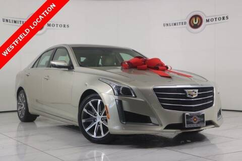 2016 Cadillac CTS for sale at INDY'S UNLIMITED MOTORS - UNLIMITED MOTORS in Westfield IN