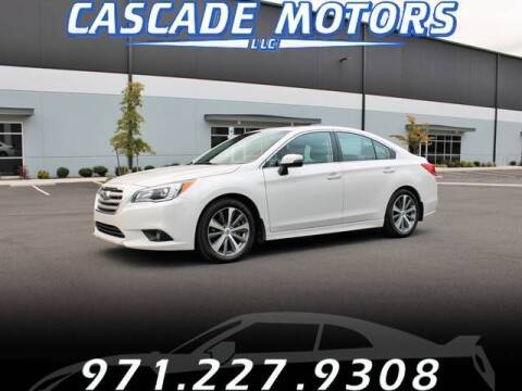 2015 Subaru Legacy for sale at Cascade Motors in Portland OR