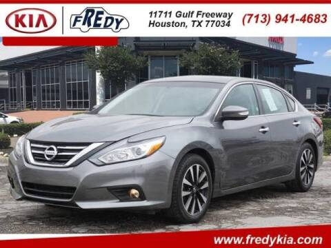 2018 Nissan Altima for sale at FREDYS CARS FOR LESS in Houston TX