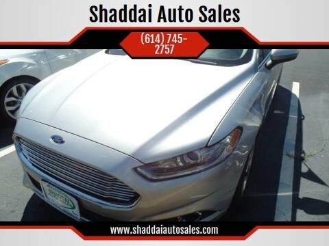 2016 Ford Fusion for sale at Shaddai Auto Sales in Whitehall OH