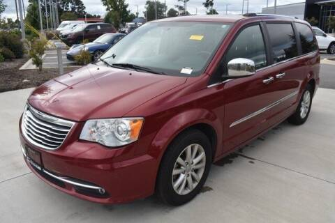 2015 Chrysler Town and Country for sale at PHIL SMITH AUTOMOTIVE GROUP - MERCEDES BENZ OF FAYETTEVILLE in Fayetteville NC