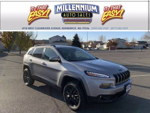 2014 Jeep Cherokee for sale at Millennium Auto Sales in Kennewick WA