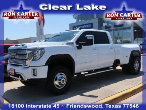 2020 GMC Sierra 3500HD for sale at Ron Carter  Clear Lake Used Cars in Houston TX