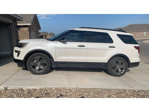 2018 Ford Explorer for sale at STANLEY FORD ANDREWS in Andrews TX