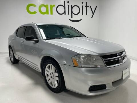 2012 Dodge Avenger for sale at Cardipity in Dallas TX