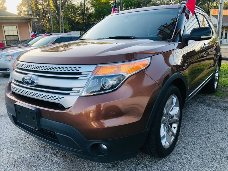 2012 Ford Explorer for sale at Lion Auto Finance in Houston TX