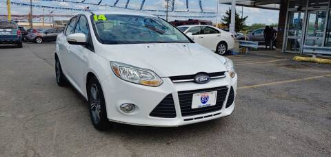 2014 Ford Focus for sale at I-80 Auto Sales in Hazel Crest IL