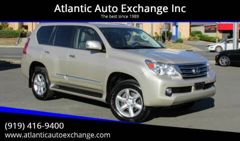 2013 Lexus GX 460 for sale at Atlantic Auto Exchange Inc in Durham NC
