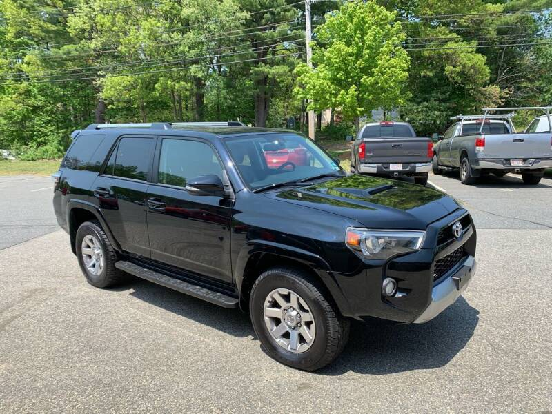 2016 Toyota 4Runner for sale at Ric's Auto Sales in Billerica MA