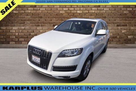 2015 Audi Q7 for sale at Karplus Warehouse in Pacoima CA