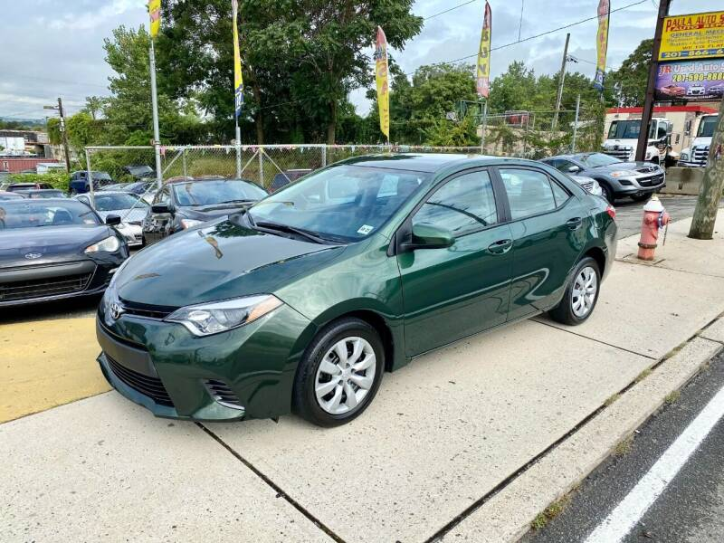 2016 Toyota Corolla for sale at JR Used Auto Sales in North Bergen NJ