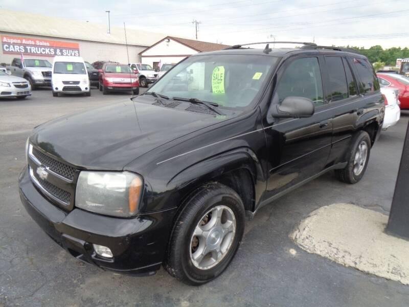 2008 Chevrolet TrailBlazer for sale at Aspen Auto Sales in Wayne MI
