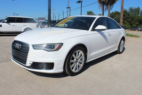 2016 Audi A6 for sale at Flash Auto Sales in Garland TX