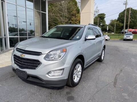 2017 Chevrolet Equinox for sale at Credit Union Auto Buying Service in Winston Salem NC