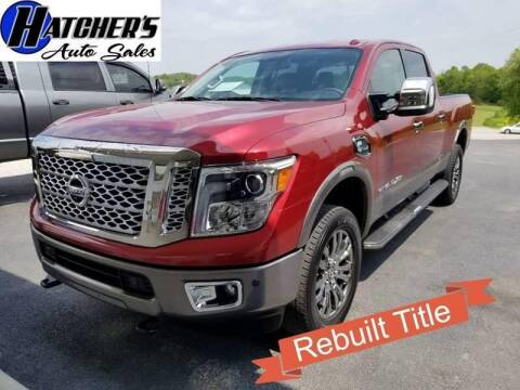 2016 Nissan Titan XD for sale at Hatcher's Auto Sales, LLC in Campbellsville KY