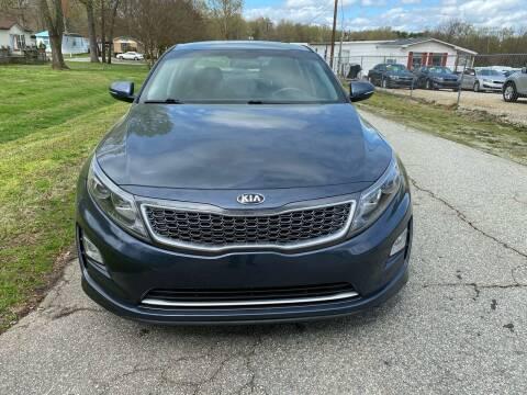 2014 Kia Optima Hybrid for sale at Speed Auto Mall in Greensboro NC