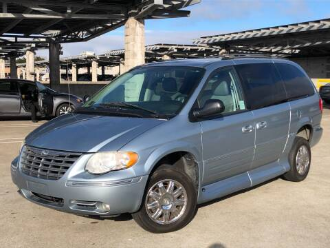 2005 Chrysler Town and Country for sale at CITY MOTOR SALES in San Francisco CA