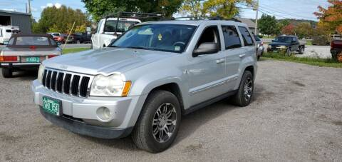 2006 Jeep Grand Cherokee for sale at Village Car Company in Hinesburg VT