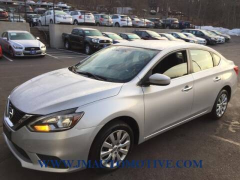 2016 Nissan Sentra for sale at J & M Automotive in Naugatuck CT