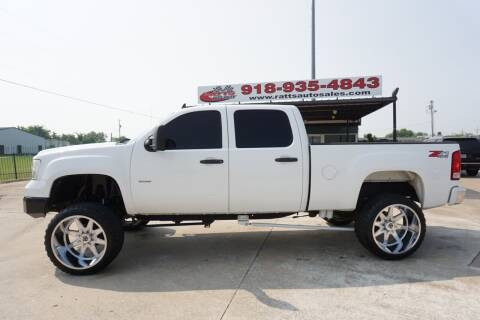 2008 GMC Sierra 2500HD for sale at Ratts Auto Sales in Collinsville OK