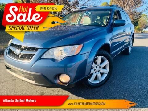 2008 Subaru Outback for sale at Atlanta United Motors in Buford GA