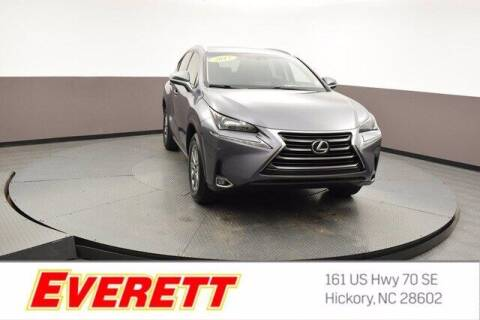 2017 Lexus NX 200t for sale at Everett Chevrolet Buick GMC in Hickory NC