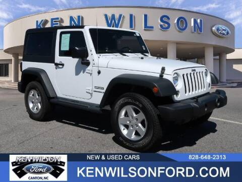 2015 Jeep Wrangler for sale at Ken Wilson Ford in Canton NC