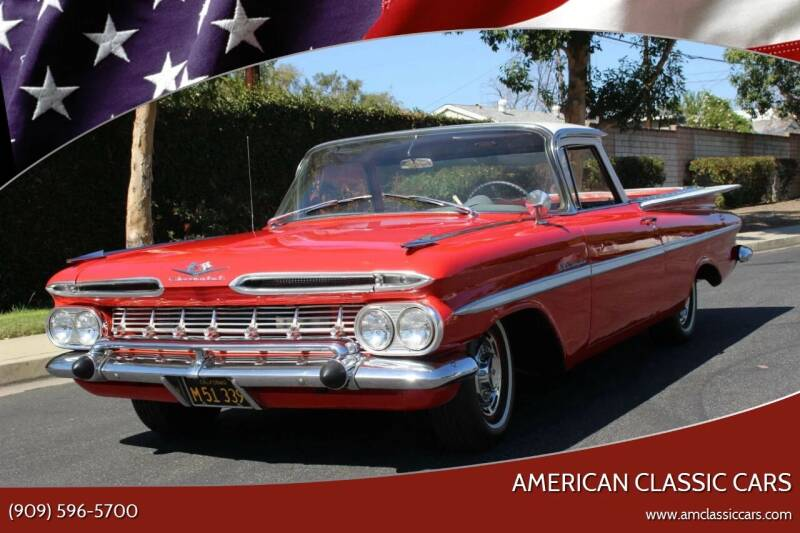 1959 Chevrolet El Camino for sale at American Classic Cars in La Verne CA