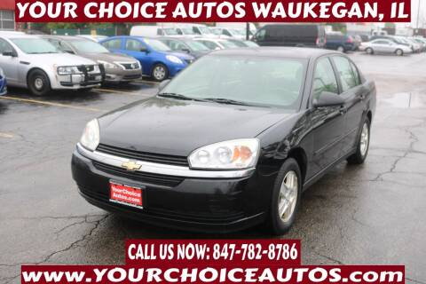 2004 Chevrolet Malibu for sale at Your Choice Autos - Waukegan in Waukegan IL
