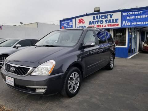 2014 Kia Sedona for sale at Lucky Auto Sale in Hayward CA