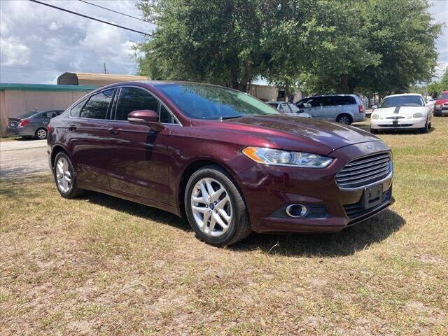 2013 Ford Fusion for sale at NETWORK TRANSPORTATION INC in Jacksonville FL