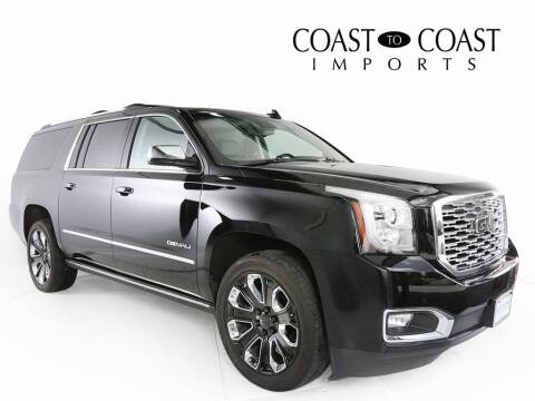 2019 GMC Yukon XL for sale at Coast to Coast Imports in Fishers IN