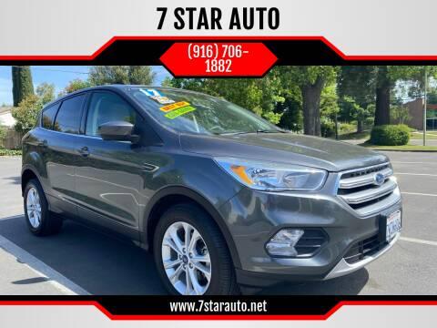 2017 Ford Escape for sale at 7 STAR AUTO in Sacramento CA
