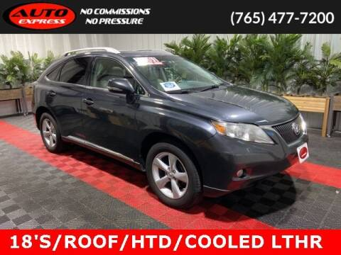 2010 Lexus RX 350 for sale at Auto Express in Lafayette IN