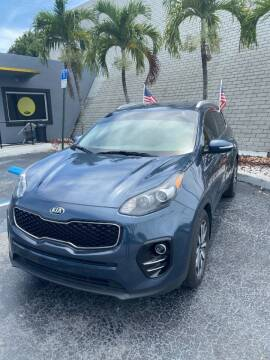 2018 Kia Sportage for sale at YOUR BEST DRIVE in Oakland Park FL