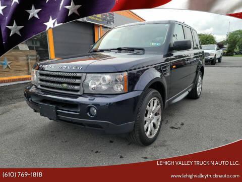 2008 Land Rover Range Rover Sport for sale at Lehigh Valley Truck n Auto LLC. in Schnecksville PA