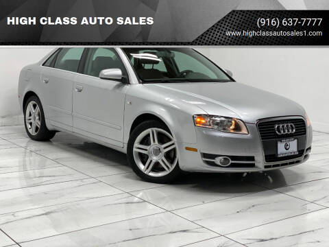 2006 Audi A4 for sale at HIGH CLASS AUTO SALES in Rancho Cordova CA