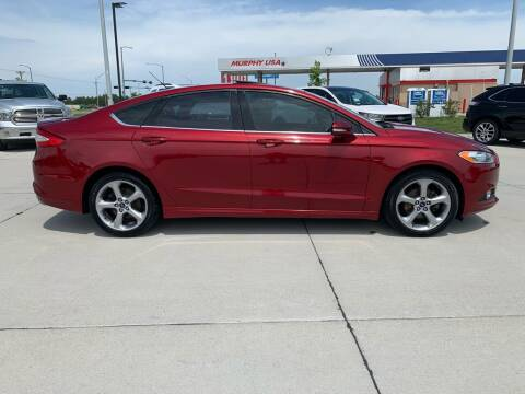 2013 Ford Fusion for sale at Sportline Auto Center in Columbus NE