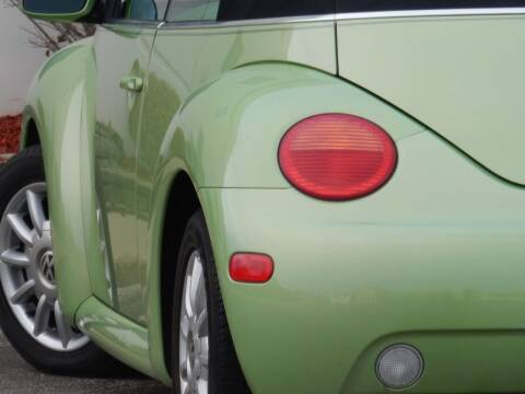 2004 Volkswagen New Beetle Convertible for sale at Moto Zone Inc in Melrose Park IL