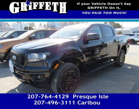 2020 Ford Ranger for sale at Griffeth Mitsubishi in Caribou ME
