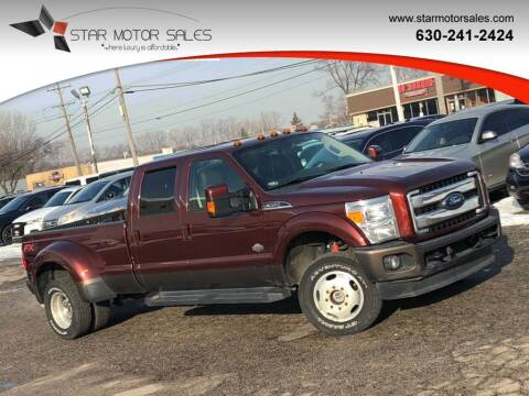 2015 Ford F-350 Super Duty for sale at Star Motor Sales in Downers Grove IL