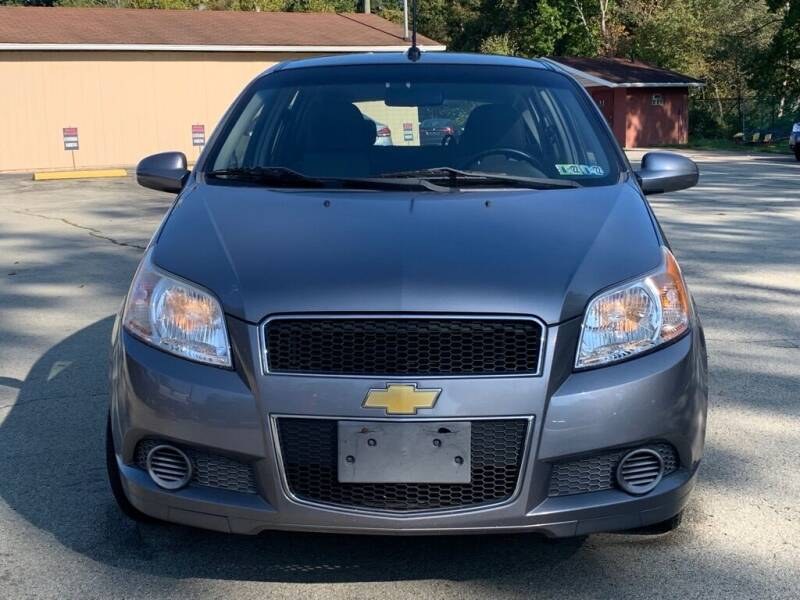 2011 Chevrolet Aveo for sale at Elite Motors in Uniontown PA