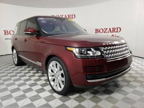 2016 Land Rover Range Rover for sale at BOZARD FORD in Saint Augustine FL