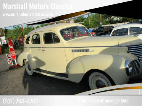 1939 Dodge desoto for sale at Marshall Motors Classics in Jackson MI
