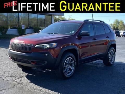 2020 Jeep Cherokee for sale at Vicksburg Chrysler Dodge Jeep Ram in Vicksburg MI