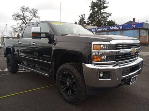2015 Chevrolet Silverado 3500HD for sale at All American Motors in Tacoma WA