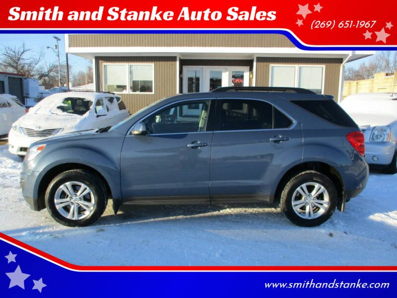 2011 Chevrolet Equinox for sale at Smith and Stanke Auto Sales in Sturgis MI