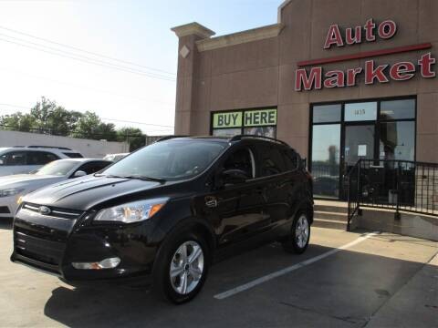 2016 Ford Escape for sale at Auto Market in Oklahoma City OK