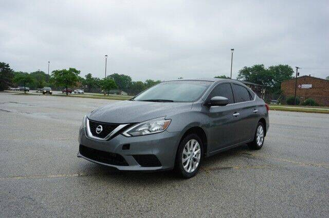 2017 Nissan Sentra for sale at O T AUTO SALES in Chicago Heights IL